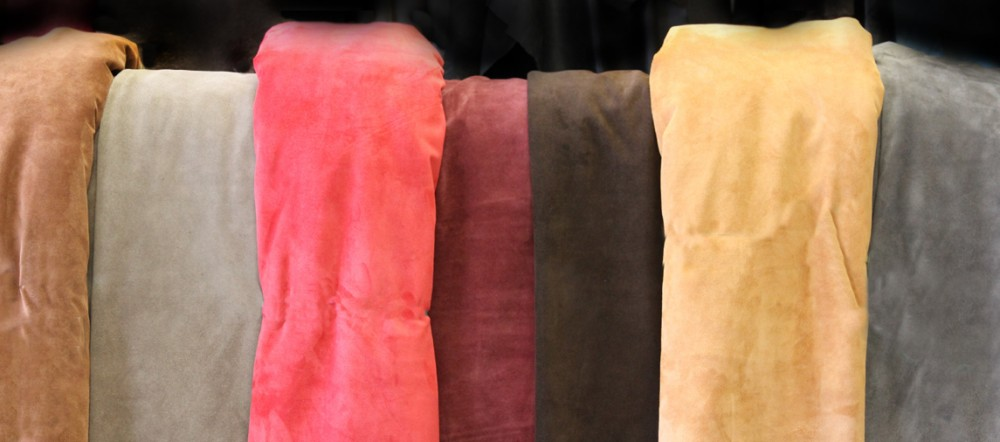 We have several types of suede available, plus lots of colour choice. See more >