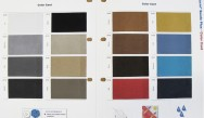 Microfibre Colour Card